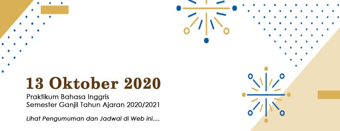 Praktikum Bahasa Inggris Semester Ganjil T.A. 2020/2021